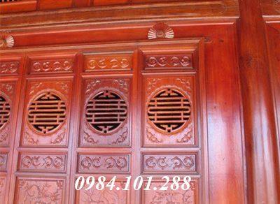 10 mẫu cửa nhà thờ họ đẹp bằng gỗ