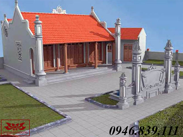 mẫu nhà thờ họ đẹp ms06