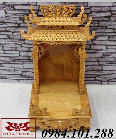 mẫu bàn thờ thần tài đẹp ms 03