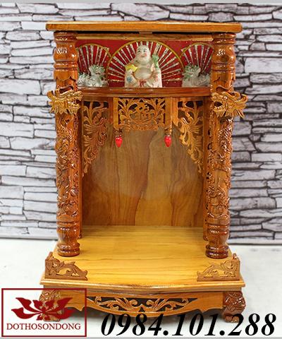 mẫu bàn thờ thần tài đẹp ms 05