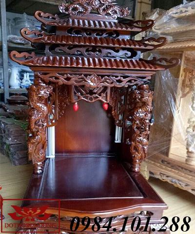 mẫu bàn thờ thần tài đẹp ms 06