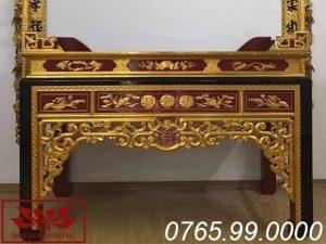 án gian thờ gỗ mít sơn son thếp vàng ms05