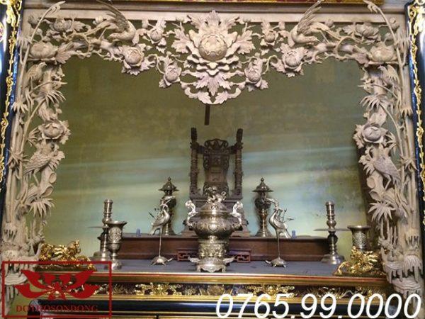 cửa võng hồng trĩ gỗ dổi ms13