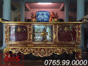 bàn thờ chấp tải gỗ mít sơn son thếp vàng ms10