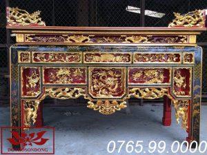bàn thờ ô xa đẹp ms14