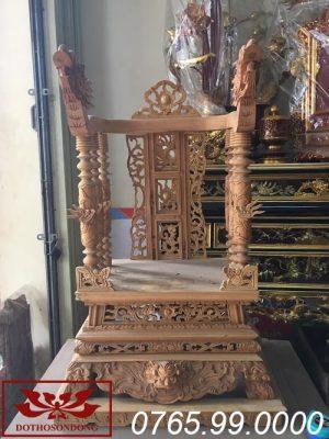 ngai thờ gỗ mít ms15