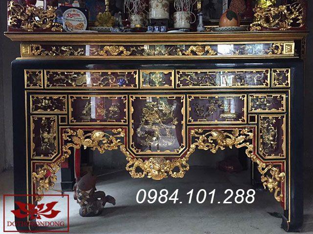 mẫu bàn thờ đẹp - ô xa thờ 10