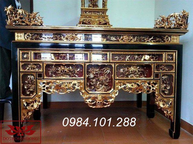 mẫu bàn thờ đẹp - ô xa thờ ms 18