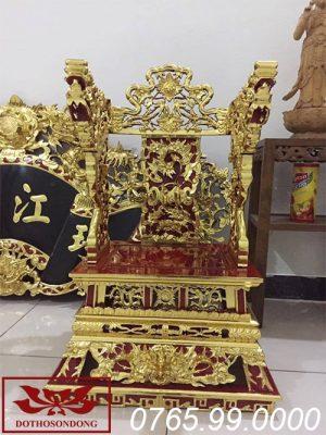 ỷ thờ gỗ mít sơn son thếp vàng ms08