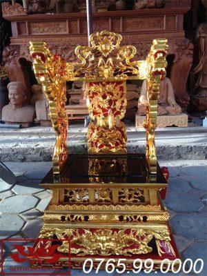 ỷ thờ gỗ mít sơn son thếp vàng ms09