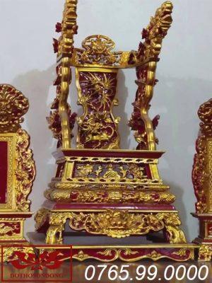 ỷ thờ gỗ mít sơn son thếp vàng ms10