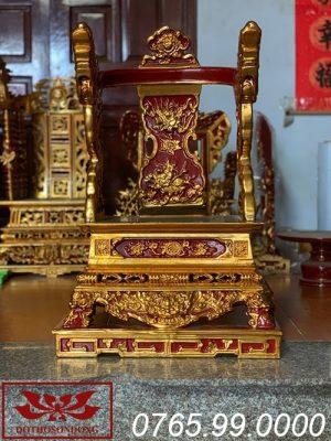 ỷ thờ gỗ mít sơn son thếp vàng ms11