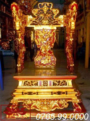 ỷ thờ gỗ mít sơn son thếp vàng ms12