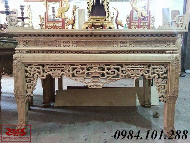 án gian thờ gỗ gụ ms38