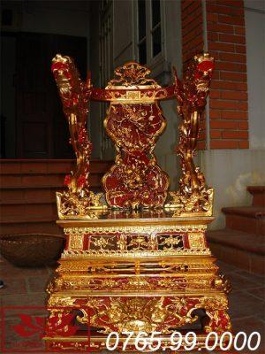 ỷ thờ gỗ mít sơn son thếp vàng ms13
