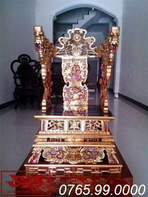 ỷ thờ gỗ mít sơn son thếp vàng ms15
